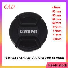 CAD Ống Kính Máy Ảnh Ống Kính Nắp Vỏ Bảo Vệ Cho Canon 49Mm 52Mm 55Mm 58Mm 62Mm 67Mm 72Mm 77Cm 82Mm