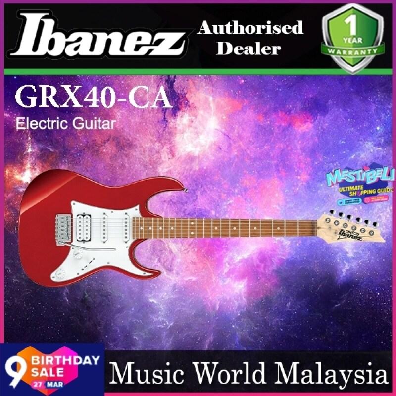 Ibanez Gio GRX40-CA Poplar Body with Tremolo Electric Guitar Candy Apple (GRX40 CA) Malaysia