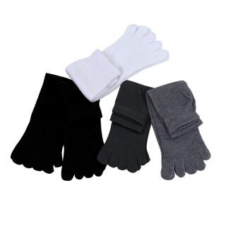 5 Pairs Men s Five Seperate Finger Toe Socks Comfortable Cotton thumbnail