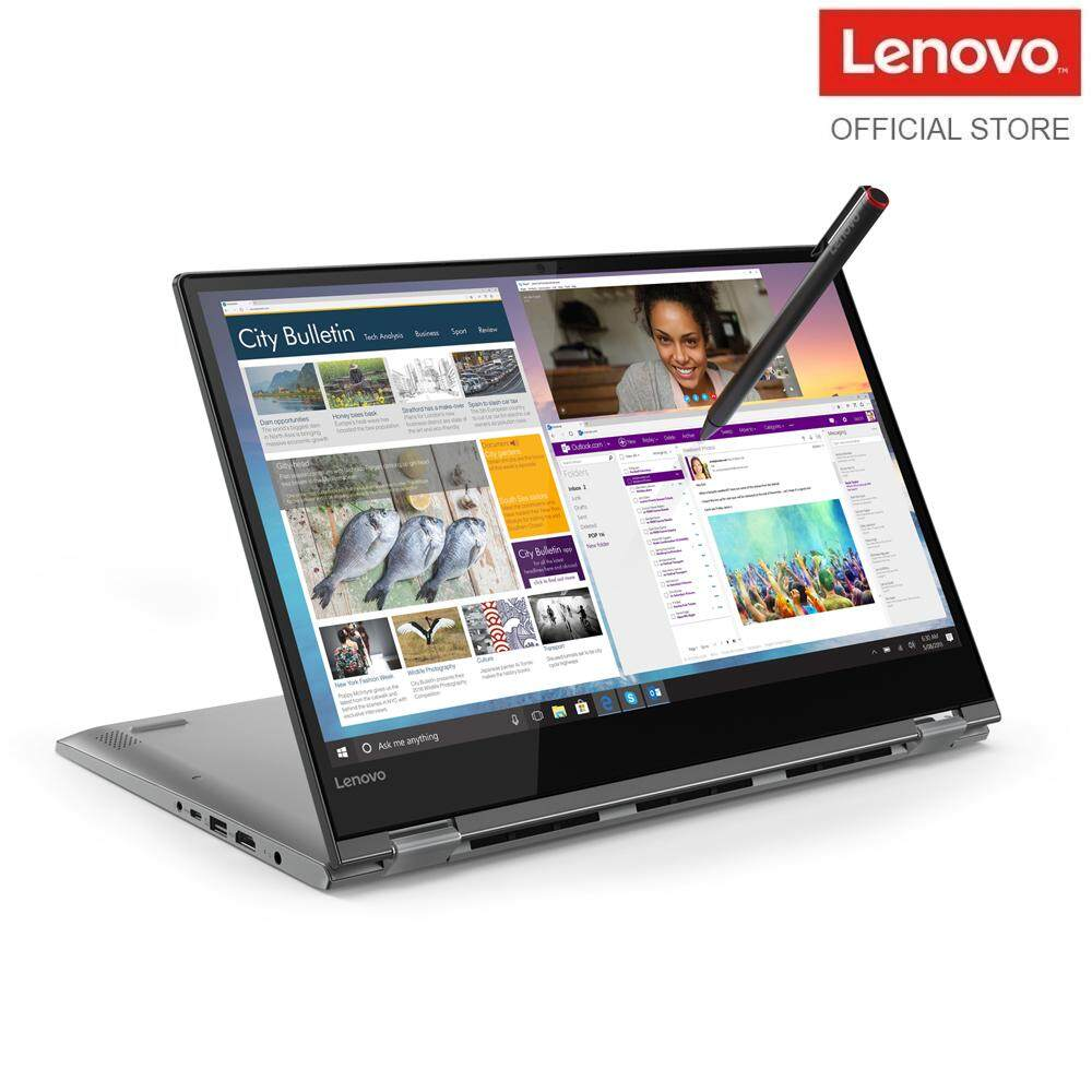Lenovo Yoga 530-14ARR 81H9004AMJ 14 FHD Touch Laptop Black (R7-2700U, 8GB, 256GB, ATI, W10) - FREE RM49 Logitech Mouse (While Stock Last) Malaysia