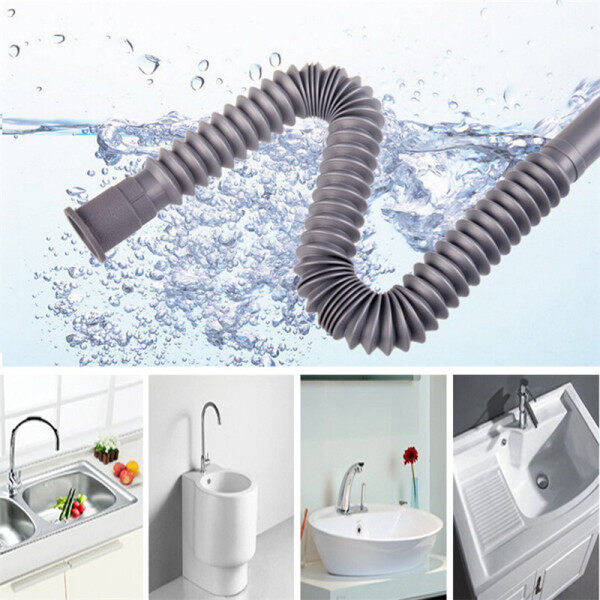 Sissi Flexible Water Pipe Wash Basin Drainage Pipes Lengthen Deodorant Prolong Water Pipes Plumbing Hoses