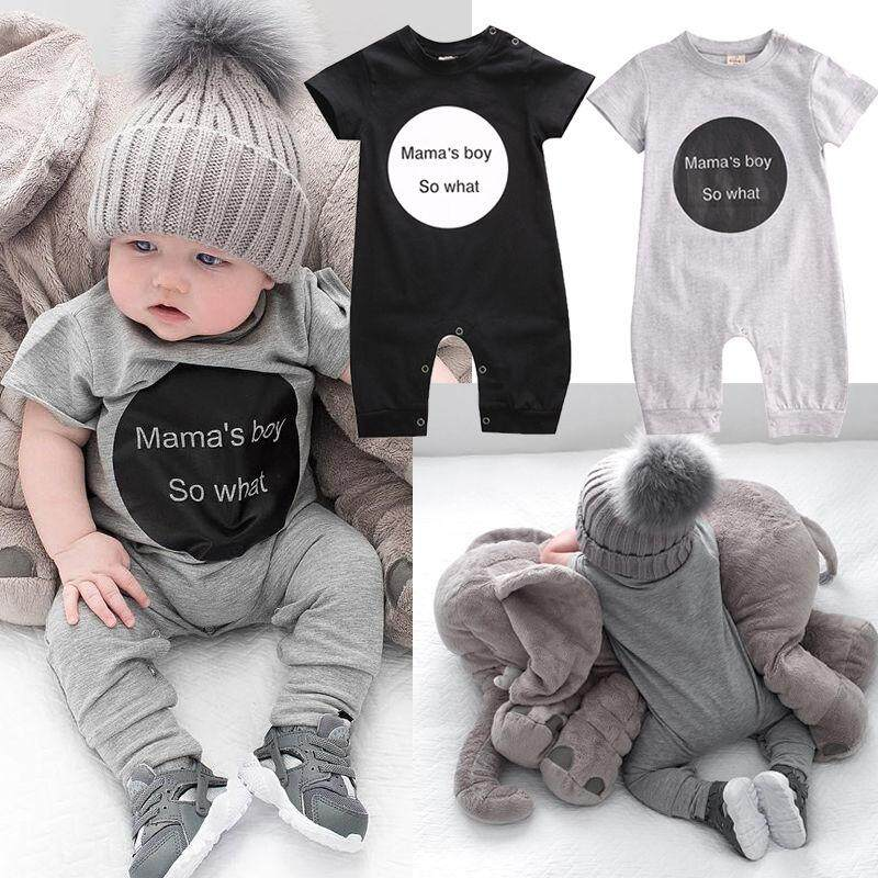 b57aa9bee8 Newborn Infant Baby Girl Boy Bodysuit Romper Jumpsuit Playsuit Outfits  Clothes