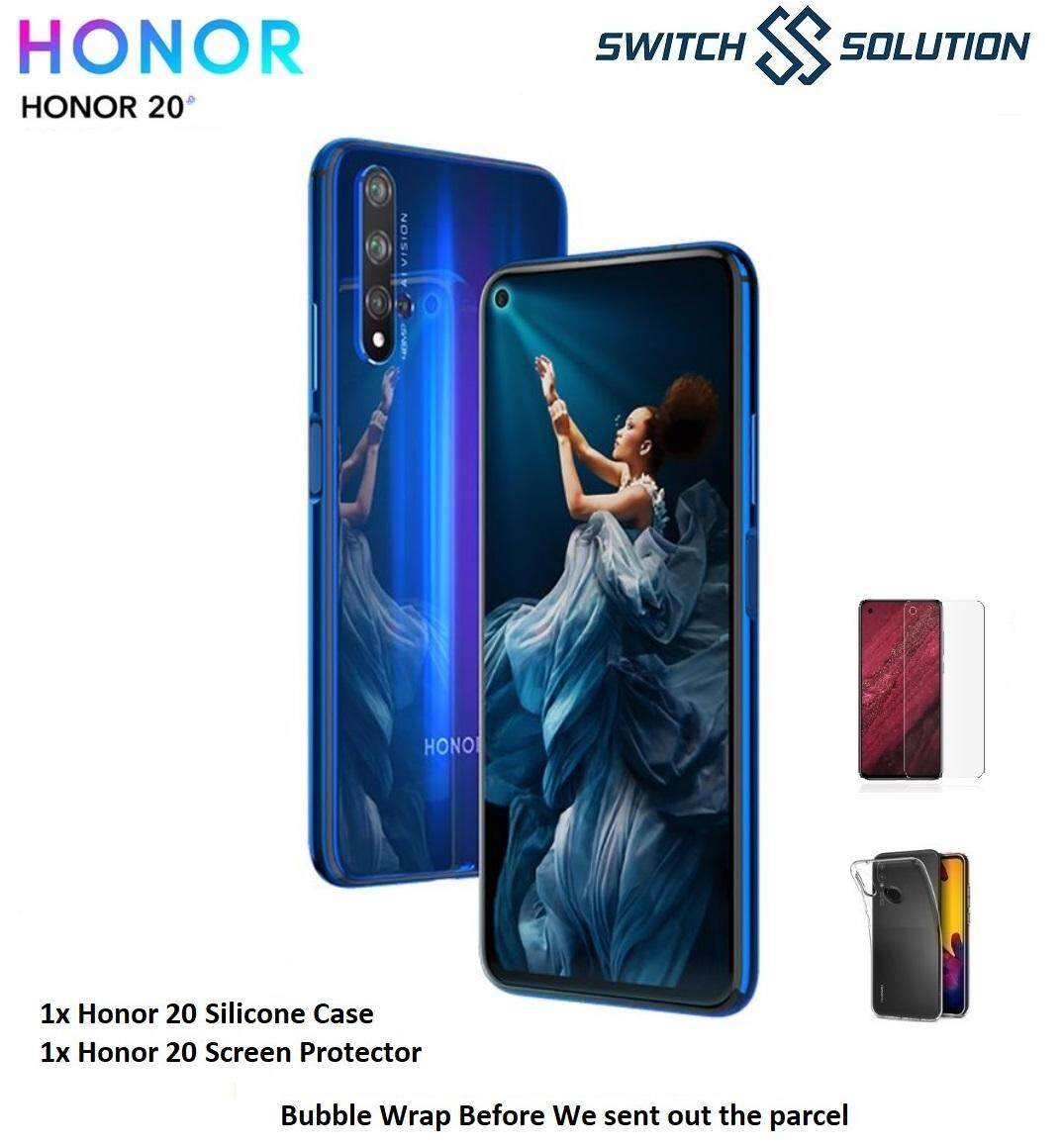 (Ready Stock) Honor 20 (6.26 6GB RAM + 128G ROM) - Original Malaysia Set