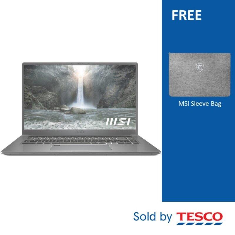 MSI Prestige 15 A11SB-449MY 15.6 FHD Laptop (I5-1135G7/ 8G/, 512GB SSD/ MX450 2GB/ W10) Urban Silver Malaysia