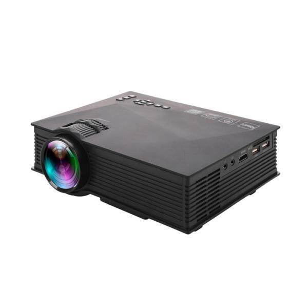 LEDMOMO UC46 Pro Mini Portable LCD LED Home Theater Cinema Game Projector with EU Plug