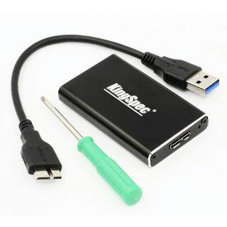 KingSpec Vỏ Ổ Cứng SSD USB 3.0 Sang MSATA Hợp Kim Nhôm, Cho SSD MSATA 30 50Mm thumbnail