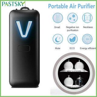 Air Purifier Máy lọc không khí đeo được Vòng cổ Máy tạo ion Máy làm sạch không khí Máy tạo ion âm Máy làm mát không khí có độ ồn thấp Sạc bằng USB Diệt vi rút cho người lớn Trẻ em Chống chất gây dị ứng phấn hoa bụi PM2.5 thumbnail
