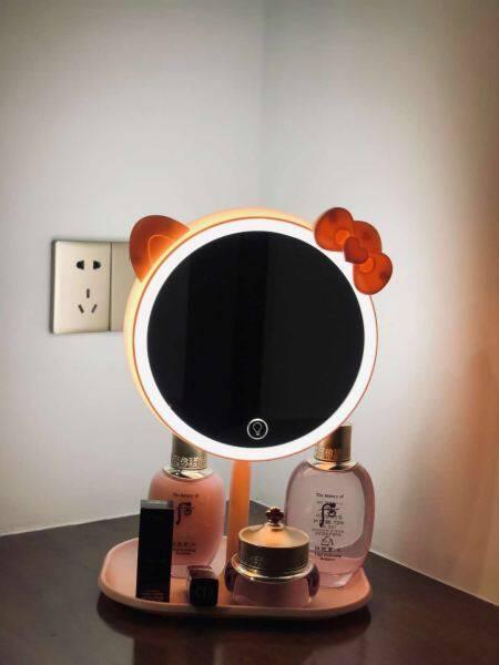 Gương Trang Điểm Đa Chức Năng Đèn LED Ba Loại Điều Chỉnh/Lưu Trữ Ánh Sáng