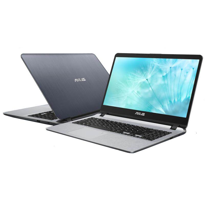 Asus VivoBook A507M-ABR061T (N4000 (1.1GHz), 4GB DDR4, 500Gb 5400rpm, 15.6 HD A/G, No ODD, Fingerprint sensor, Win 10, Stary Grey, 1.75 kg, 1 Yr Global Warranty by Asus) Malaysia