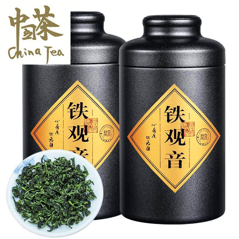 [High Quality, Fast Delivery] Anxi Tieguanyin Tea Fragrance Oolong Tea Chinese Tea 125g