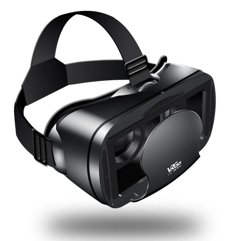 3D VR Kính Vrg Pro Thấu Kính Phi Cầu Gắn Đầu VR Tai Nghe Mắt Kính Thực Tế Ảo 5 ~ 7Inch điện Thoại Thông Minh Du Lịch Phim Gia Đình Điện Thoại Di Động Tập Trung Điều Chỉnh Đa Chức Năng