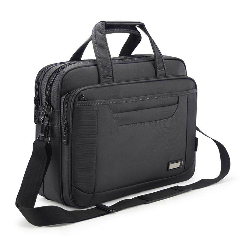 Sweet-Tempered New Leather Business Briefcase Outdoor Travel Computer Bag Leather Mens Handbag Luggage & Bags Men's Bags