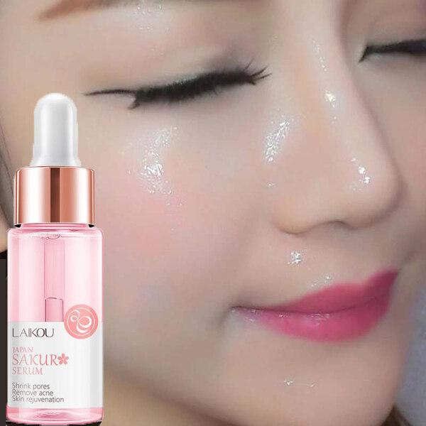 【Khuyến mãi giới hạn thời gian】 Hàng Mới Về Serum dưỡng ẩm làm trắng da mặt tinh chất Sakura Blossom 15ml