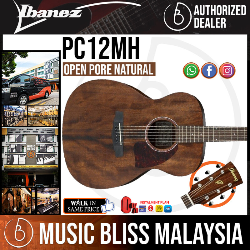 Ibanez PC12MH - Open Pore Natural (PC12MH-OPN) *Price Match Promotion* Malaysia