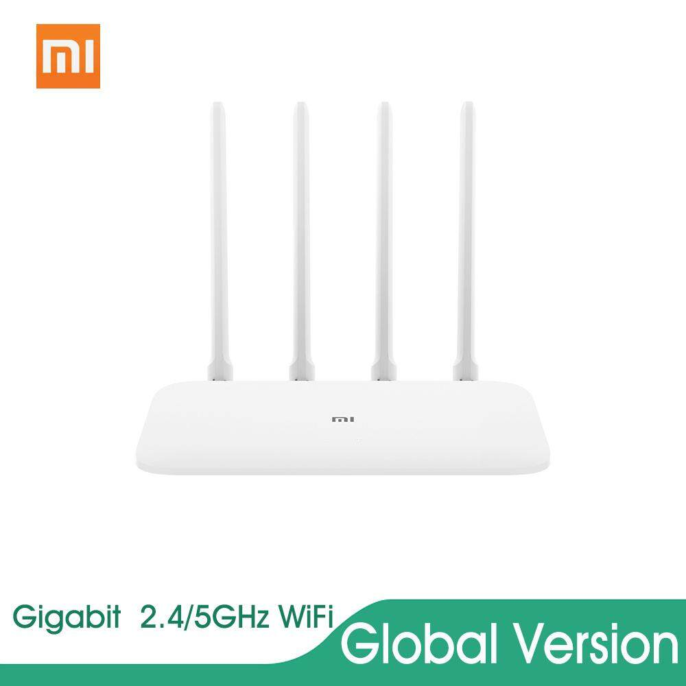 Global Version Xiaomi Mi Router 4A Gigabit Version 2 4GHz 5GHz WiFi  1167Mbps WiFi Repeater 128MB DDR3 High Gain 4 Antennas Network Extender APP  Remote