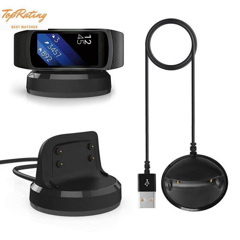 TopRating Smart Watch Cable USB Charger Charging Stand Magnetic Attraction For Samsung Gear Fit2 Pro SM-R360 Malaysia