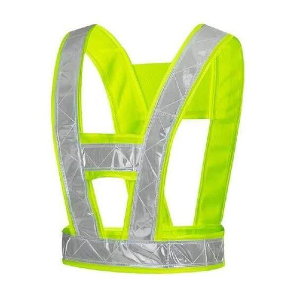 2pcs Safety Vest V-Type High Visibility Waistcoats Safety Stripes Jacket