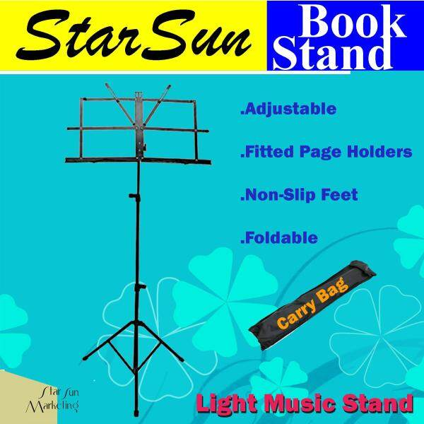 StarSun MS001 Folding Music Stand / Sheet Music Stand with Carry Bag Malaysia