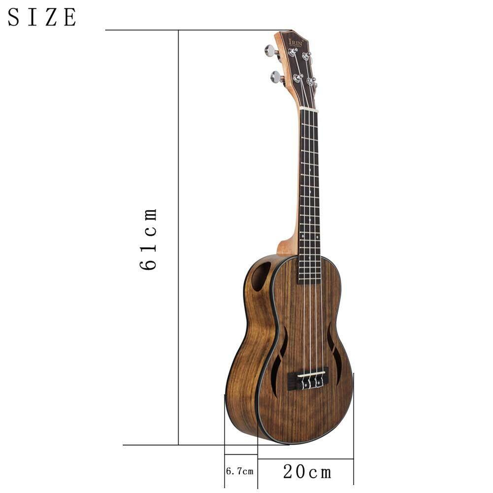 23/26 Inch 18 Giải Tầng Óc Chó Đàn Ukulele Hawaii Nhỏ Guitar Hawaii 4 Dây Đàn Guitar