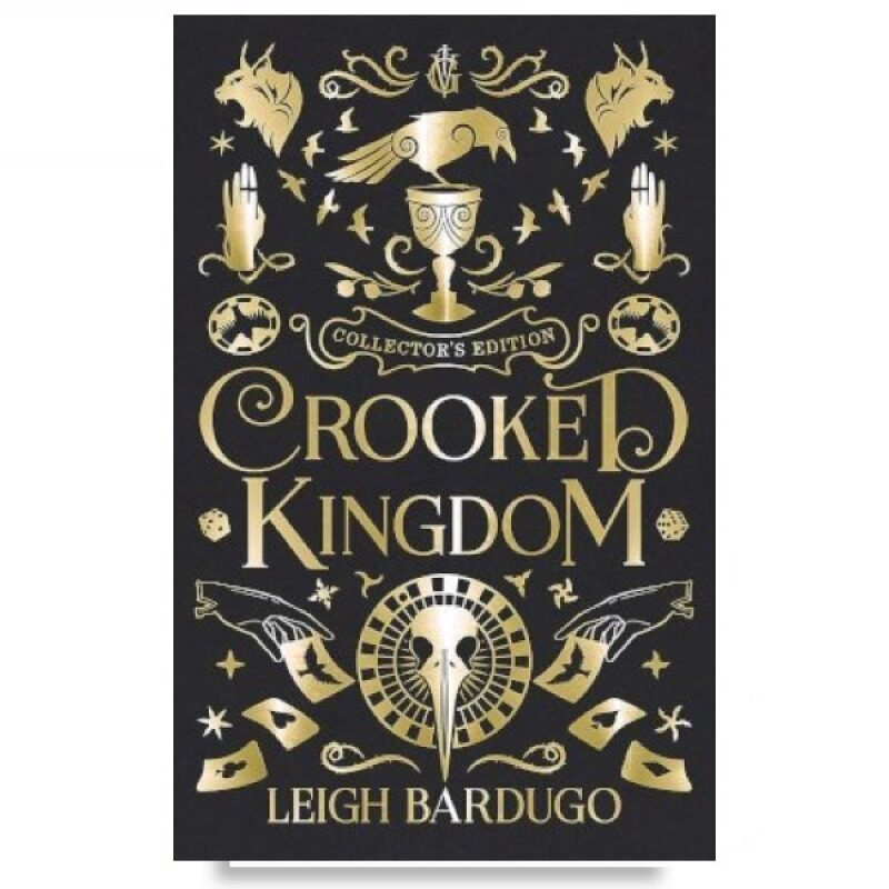 [ BOOKURVE ] Crooked Kingdom : Collectors Edition : Book 2 By Leigh Bardugo - ISBN 9781510107038 (Hardcover) Malaysia