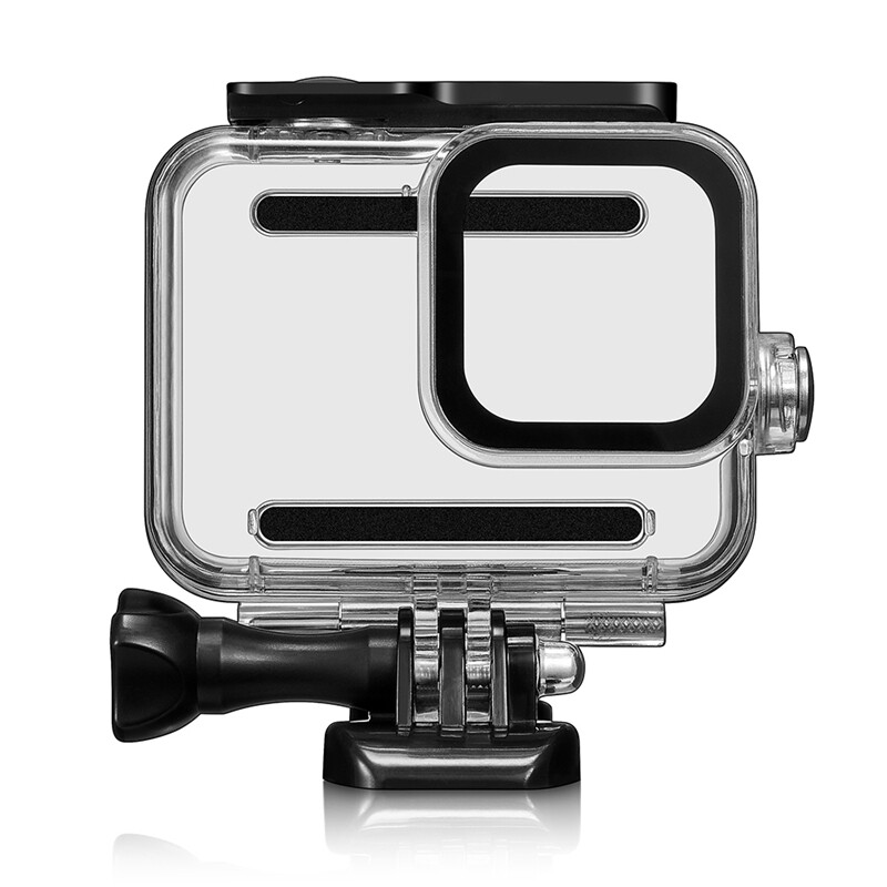 Giá 60M Waterproof Case Protective Cover with Filter for Gopro Hero 8 Motion Camera Diving Shell Accessories