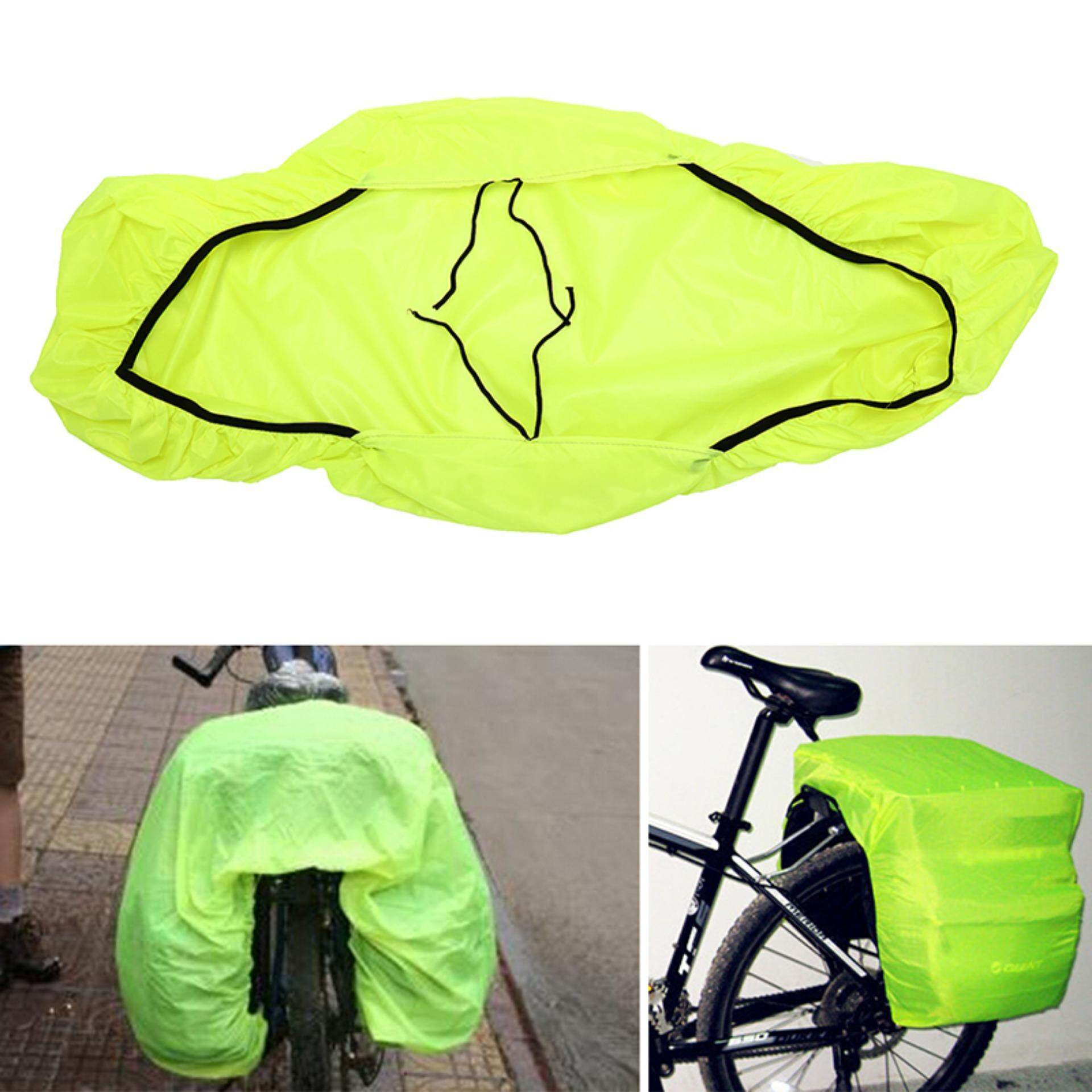 waterproof bicycle bike reflective cover bike rack pack bag dust rain cover