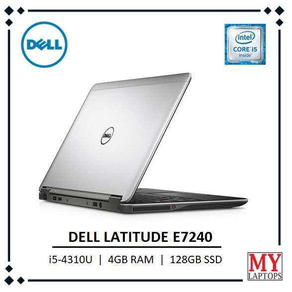Dell Latitude E7240 / i5-4310U / 4GB RAM / 128GB SSD -ULTRABOOK [REFURBISHED] Malaysia