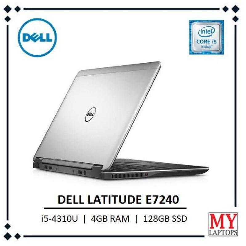 Dell Latitude E7240 / i5-4310U / 4GB RAM / 128GB SSD -ULTRABOOK [REFURBISHED] Malaysia
