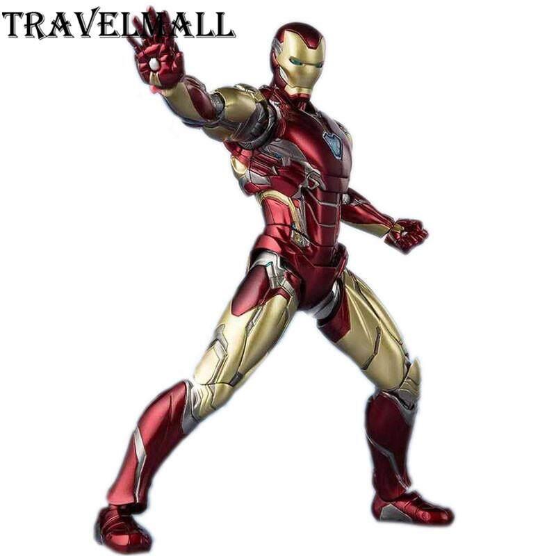 TraVelMall Mới Trong Hộp Người Sắt MK85 18cm NHỰA PVC Đồ Chơi Tượng Mô Hình Siêu Anh Hùng Endgame Trẻ Em Quà Tặng
