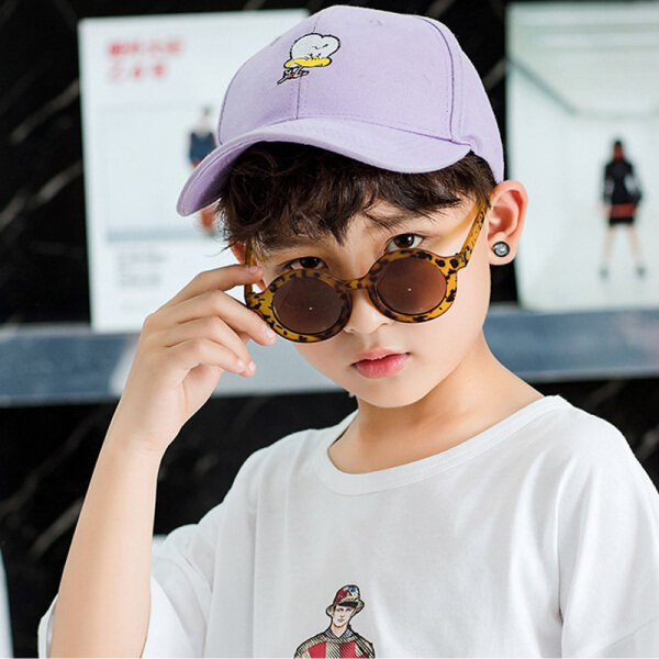 Mua Childrens Sunglasses Summer Outdoor Sunscreen Retro Fashion Round Childrens Glasses