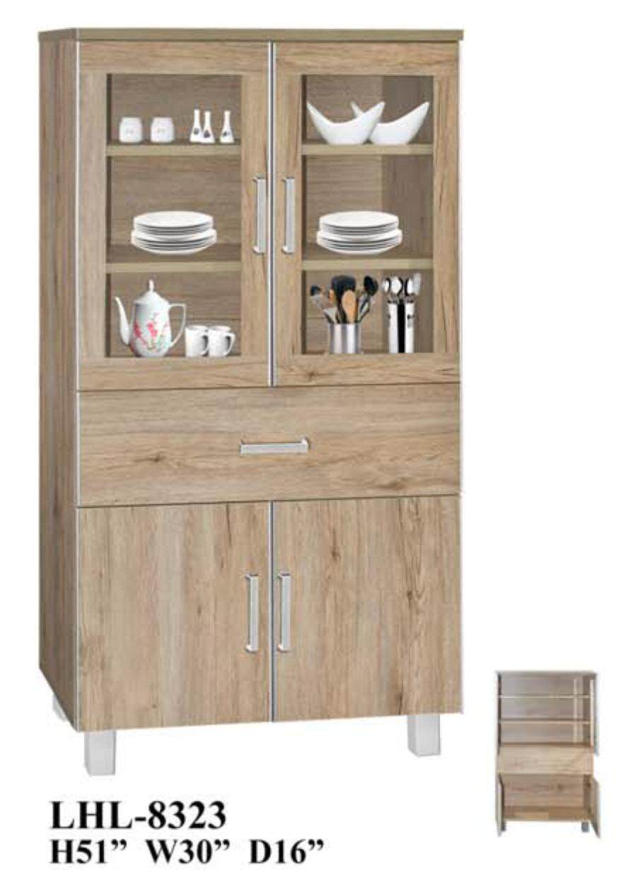 2.5ft Kitchen Storage Cabinet Tall (Deliver & Installation Within Klang Valley)