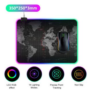 Tấm Lót Chuột RGB Đèn LED AJAZZ 14 Chế Độ Chiếu Sáng Chuột Di Chuột Chơi Game Siêu Lớn Mềm Mở Rộng Chống Trượt, Dành Cho Máy Tính Xách Tay PC thumbnail