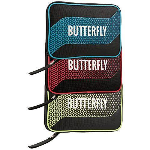 Butterfly 8740B Melowa Fits Two Rackets and Four Balls Tour Case, 2 Paddles