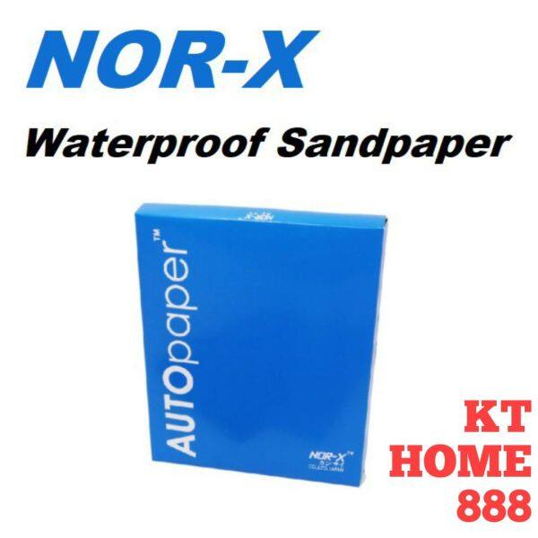 Nor-X Premium Waterproof (WET/DRY) Silicon Carbite Sand Paper (JAPAN) (READY STOCK)