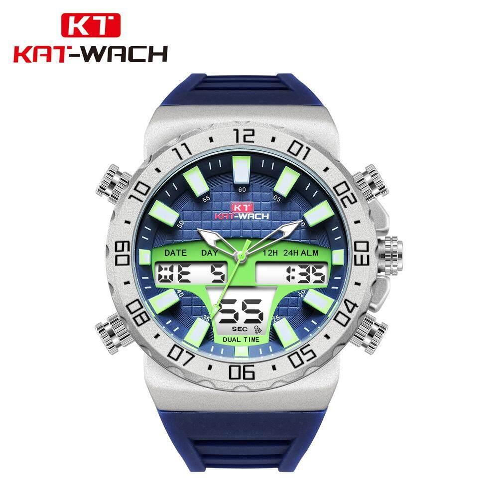 30b99bea5 KAT-WACH KT1834 Luxury Brand Watches Men Sports Watches 50M Waterproof LED  Digital Quartz Men