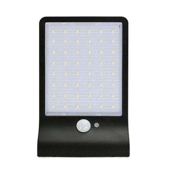 48 Đèn LED Năng Lượng Mặt Trời 3 Chế Độ Đèn Cảm Biến Chuyển Động IP65 Đèn Tường Vườn Ngoài Trời