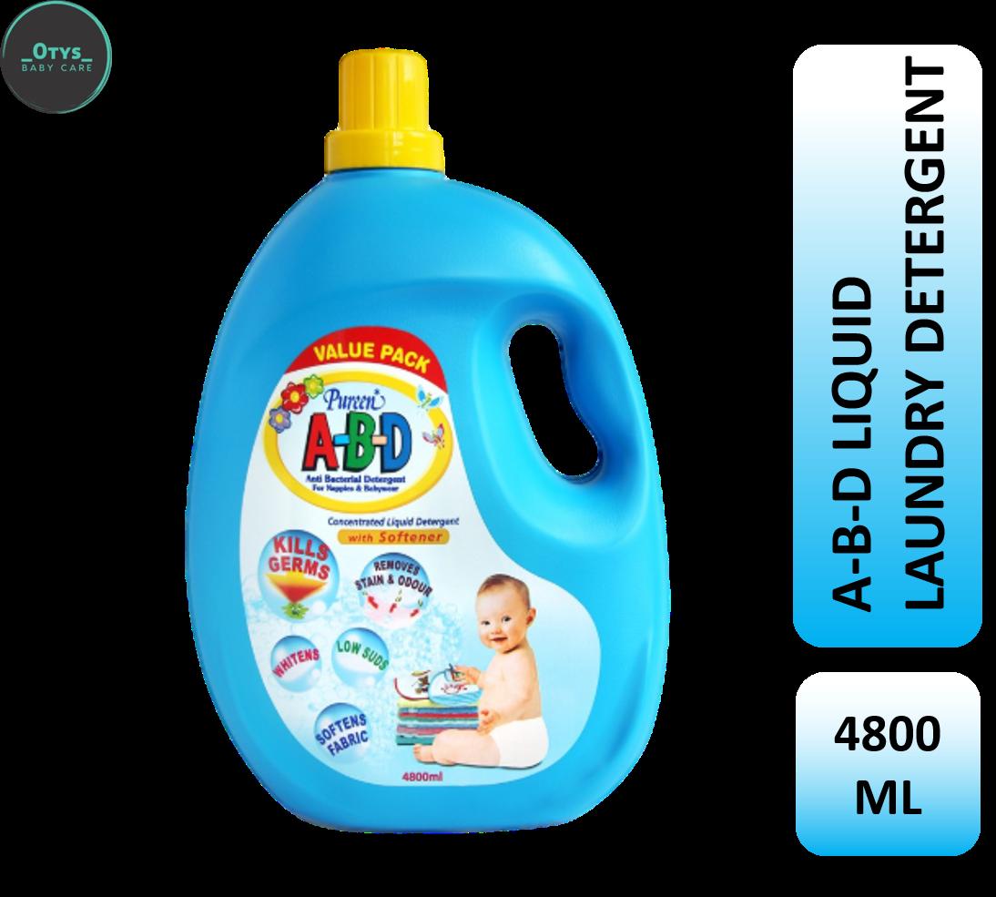 Pureen A-B-D Liquid Detergent 4800 ml
