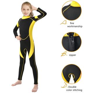 Đồ Bơi Trẻ Em 2-14 Tuổi, Đồ Bơi Một Mảnh, Kem Chống Nắng Áo Tắm, Đồ Bơi Giữ Ấm Và Lạnh thumbnail