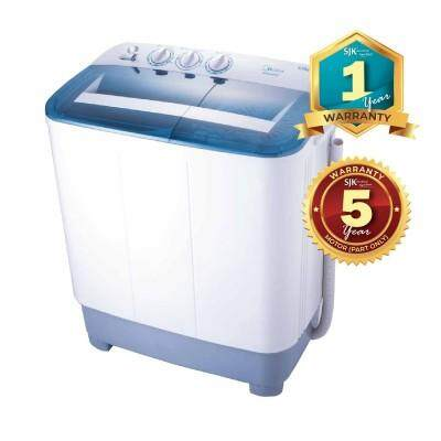 Midea Semi Auto Washing Machine MSW-8008P (8.0kg)