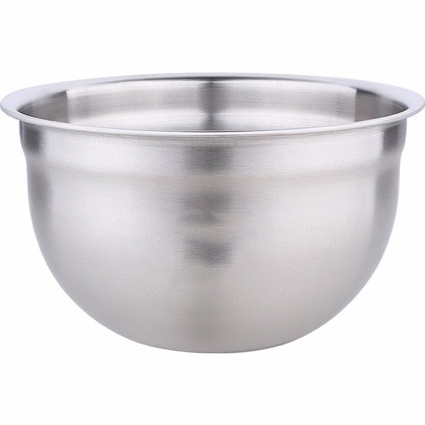 Top (Mới & Tốt Nhất) Nồi Thép Không Gỉ Bát Trứng Sâu Với Vảy Nướng Salad Súp Lọ Gia Vị Hương Vị Đồ Dùng Nhà Bếp