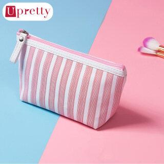Túi đựng đồ trang điểm họa tiết sọc đơn giản tiện lợi Upretty - INTL thumbnail