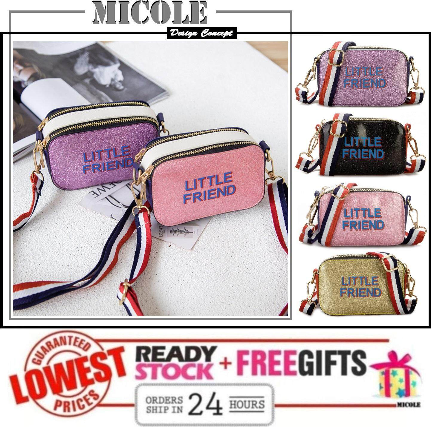 Micole Kids Cutie Mini Shoulder Bag Handbag Sling Bag Sb2090 By Micoleconcept.