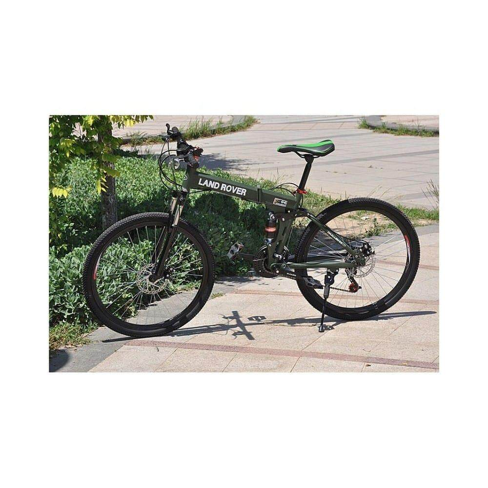 Folding Mountain Bike Wheel 21 Speed By Max Radiance Trading.