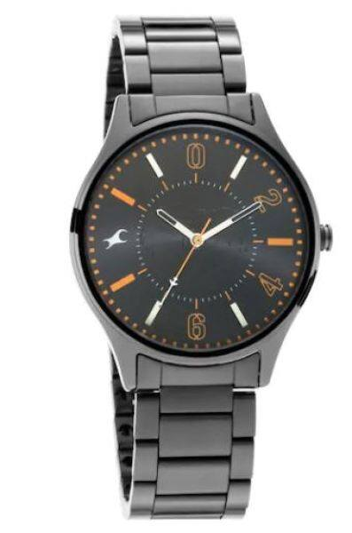 FASTRACK 3237NM01 - TRIPSTER BLACK DIAL STAINLESS STEEL STRAP Malaysia