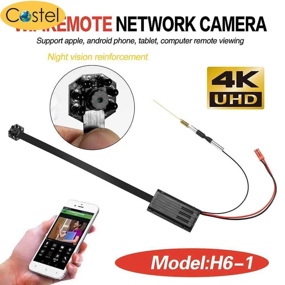 e90b710747 Costel FUll HD 1080P Wireless WiFi Remote Control Hidden IP Spy Camera Mini  DIY Module (