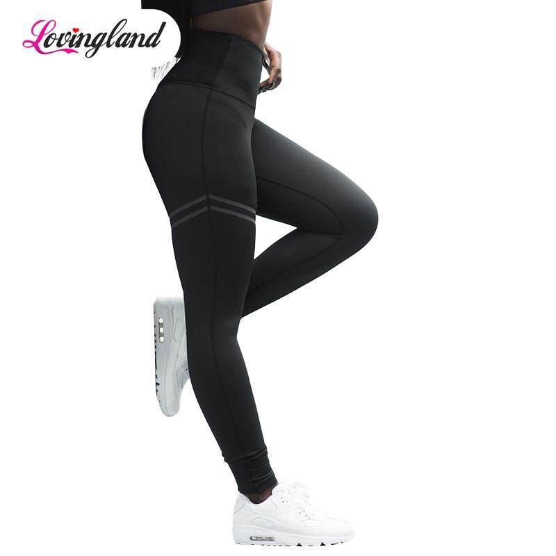 fd283a3a7 LD Leggings Pant Trouser High Waist Elasticity For Women Lady Running Gym  Fitness Yoga