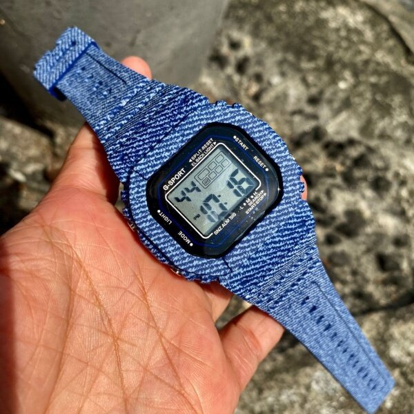 **VALUE BUY** G-Sport Digital Jeans Fashion Watch For Unisex (GREAT QUALITY) FAST SHIPPING Malaysia