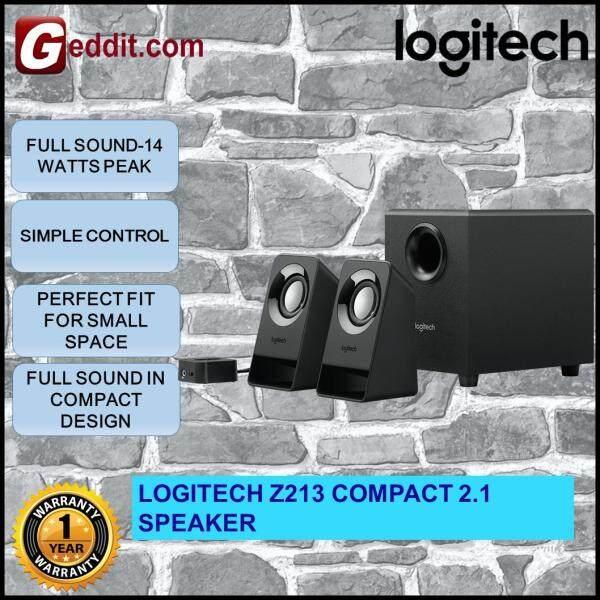 LOGITECH Z213 MULTIMEDIA 2.1 COMPACT SPEAKER Malaysia