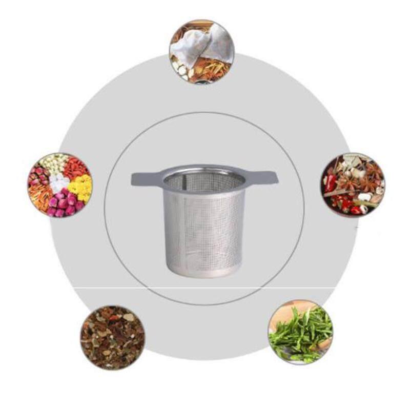 ❥gracekarin Online Stainless Steel Double Ear Fine Mesh Filter Tea Fine Reusable Filter By Gracekarin Online.