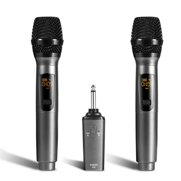 K380S 2pcs Wireless Microphones USB Rechargeable Mic for Conference Hosting Singapore